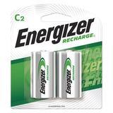 ENERGIZER NH35BP-2 Precharged Recharg Battery,C,NiMh,PK2