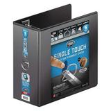 """WILSON JONES W86651PP2 5"""" D-Ring Binder, Ultra Duty, Black"""