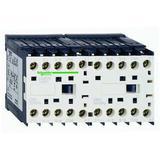 SCHNEIDER ELECTRIC LC2K1201G7 IEC Mini Magnetic Contactor, 3 Poles, 120V AC, 12