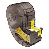 BRADY XPS-125-1 Wire Marker Sleeves, Black on White, Labels/Roll: 100