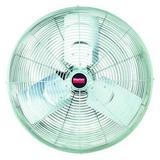 "DAYTON 1VCE8 Standard-Duty Industrial Fan 24"" Non-Oscillating, 115VAC,"