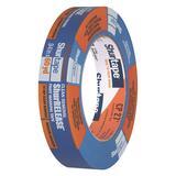SHURTAPE CP 27 Masking Tape,Blue,1 in. x 60 yd.