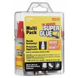SUPER GLUE 15187 Instant Adhesive,2g Tube,Clear,PK12