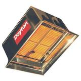 DAYTON 3E133 Commercial Infrared Heater, NG, 60,000 BtuH Input, 22 1/2 in H x