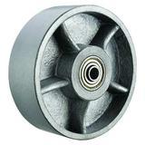 ZORO SELECT P-D-060X030/100R Caster Wheel,Ductile Iron,6 in.,6000 lb.