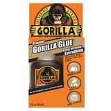GORILLA GLUE 5000201 All Purpose Glue, 2.0 oz, Bottle, Begins to Harden in 10