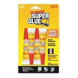 SUPER GLUE SGH24J-48 Instant Adhesive,2g Tube,Clear,PK4