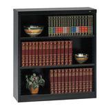 "TENNSCO B-4200 3-Shelf Stationary Bookcase, 42""x38"" Black"