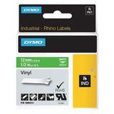 DYMO 1805414 Label Tape Cartridge, White/Green, Labels/Roll: Continuous