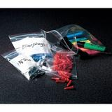 "MINIGRIP RED LINE MGRL2W0406 Reclosable Poly Bag Zipper Seal 6"" x 4"", 2 mil,"