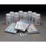 INDUSTRIAL TEST SYSTEMS 480064 Test Strips,Iodine,0-300ppm,PK50