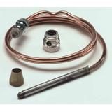 ROBERTSHAW 1970-024 Uni-Couple Thermocouple, LP/NG, 20 to 30mV, 24 in L.,