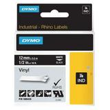 DYMO 1805435 Label Tape Cartridge, White/Black, Labels/Roll: Continuous