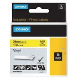 DYMO 1805431 Label Tape Cartridge, Black/Yellow, Labels/Roll: Continuous