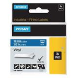 DYMO 1805243 Label Tape Cartridge, White/Blue, Labels/Roll: Continuous
