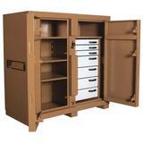 KNAACK 112 60 in x 60 in x 30 in Jobsite Storage Cabinet
