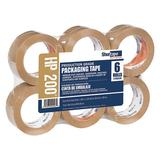 SHURTAPE HP 200 Carton Sealing Tape,Tan,48mm x 100m,PK36