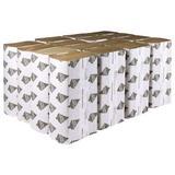 TOUGH GUY 38C403 Tough Guy Multifold Paper Towel, 1 Ply, 250 Sheets, Brown, PK16