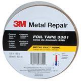 3M 3381 Foil Tape,1-7/8 in. x 50 yd.,Silver