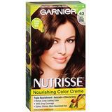 Garnier Nutrisse Haircolor Creme, Dark Golden Brown [43] 1 Each (Pack of 3)
