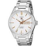 TAG Heuer Men's WAR201D.BA0723 Carrera Analog Display Analog Quartz Silver Watch