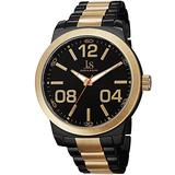 Joshua & Sons Bold Easy to Read Men's Watch - Large Arabic Numeral On a Stainless Steel Bracelet - JS82