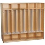 Childcraft Locker Divider, Size 29.75 H x 1.0 W x 9.5 D in | Wayfair 205977