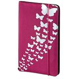 Hama Up to Fashion Nylon Case for up to 48 CDs/DVDs - Pink 'Butterfly'