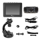 "Yada (BT53872M-2) Matte Black Digital Wireless Backup Camera with 3.5"" Dash Monitor"