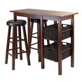 Winsome Egan 5-piece Dining Table Set, Brown, Furniture