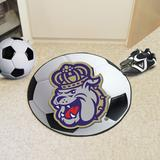 FANMATS NCAA James Madison University Soccer Ball Synthetics in Gray, Size 27.0 W x 27.0 D in | Wayfair 964