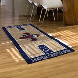 FANMATS New Orleans Pelicans NBA Court Runner Non-Slip Indoor Only Door Mat in Brown, Size 29.5 W x 54.0 D in | Wayfair 9346