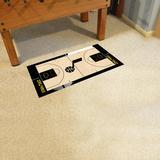 FANMATS Utah Jazz NBA Court Runner Non-Slip Indoor Only Door Mat, Size 24.0 W x 44.0 D in | Wayfair 9508