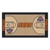 FANMATS Phoenix Suns NBA Court Runner Non-Slip Indoor Only Door Mat in Blue/Brown/Green, Size 24.0 W x 44.0 D in | Wayfair 9502
