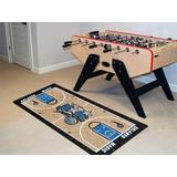 FANMATS Orlando Magic NBA Court Runner Non-Slip Indoor Only Door Mat in Brown, Size 29.5 W x 54.0 D in | Wayfair 9362