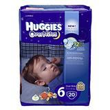 Huggies Overnite Diapers, Size 6, Jumbo, 20 ct