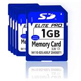 Estone 5pcs 1GB SD Cards Security Digital Memory Card with High Speed Compatible with Cameras Camcorders Computers Card Readers and Other SD Card Compatible Devices