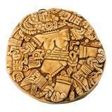 Ceramic plaque, 'Aztec Moon Goddess'
