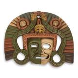Ceramic mask, 'Aztec Duality'