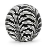 Blown glass paperweight, 'Spherical Phoenicia'