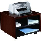 HON 10700 Series Mobile Printer Stand Wood in Red/Brown, Size 20.0 H x 14.13 W x 19.88 D in | Wayfair HON105679NN