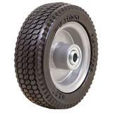 MARASTAR 33101 Flat Free Wheel,Polyurethane,150 lb,Gray
