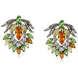 Ben-Amun Jewelry Citrus Multi-Stone Earrings