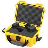 "NANUK CASES 903-1004 Yellow Protective Case, 9.1""L x 6.8""W x 3.8""D"