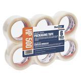 SHURTAPE HP 500 Carton Sealing Tape,Clear,48mm W,PK36