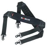 NANUK CASES 900-STRAP Padded Shoulder Strap, Neoprene, Black