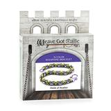 Weave Got Maille 3-Color Byzantine Chain Maille Bracelet Kit, Field of Heather