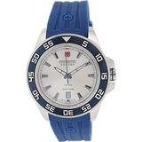 Swiss Military Hanowa Men's 06-4221-04-001 Blue Rubber Swiss Quartz Watch