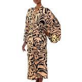 Rayon robe, 'Sunset Shade'