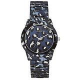 Guess ROAR W0425L1 Ion Plated Stainless Steel Case Multicolor Steel Bracelet Mineral Women's Watch